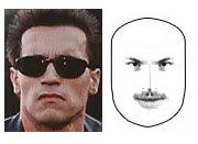 A Square Face Shape