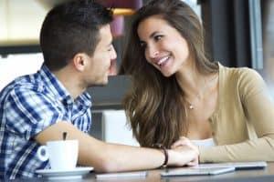man flirting with friend
