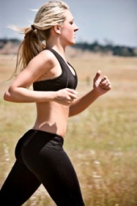 Woman getting fit to make her ex jealous