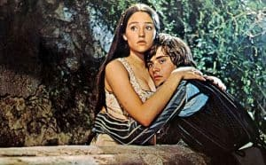 romeo and juliet in love