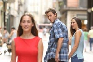 disloyal man meme