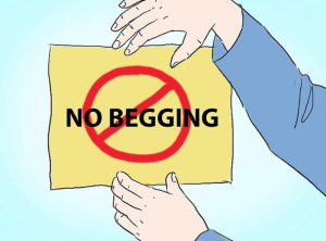 no begging ex