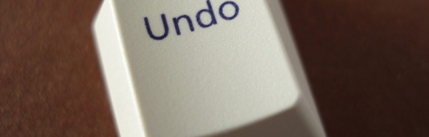 undo key